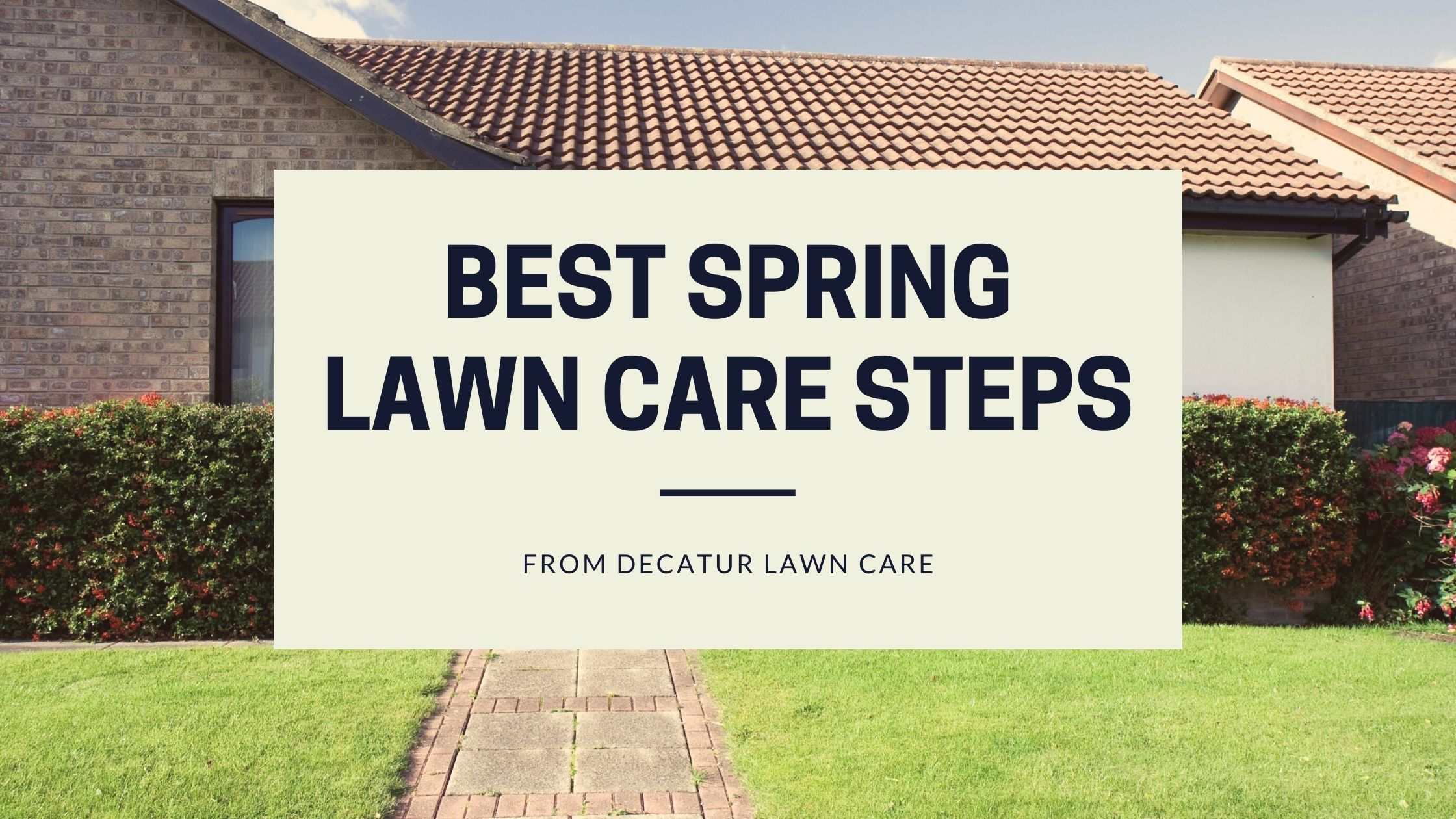 Best Spring Lawn Care Tips from Decatur Lawn Care